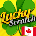 Download Lucky Scratch Canada WIN MONEY - it's a LUCKY DAY APK